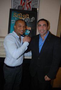 Jesus Salas with Arturo Sosa