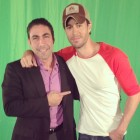 Jesus Z. Salas and Enrique Iglesias shooting video