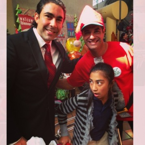 Jesus Salas Participating in Toy Drive for At Risk Children