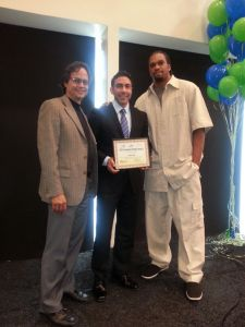 Jesus Zeus Salas Receives 2014 Involved Father Award At University of Miami